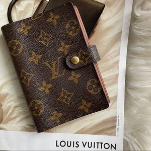 Louis Vuitton Monogram Small Agenda Notebook PM